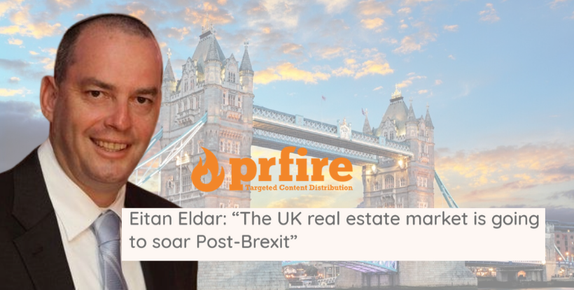 "Eitan Eldar on prfire: ""Uncertainty about Brexit is finally over"""