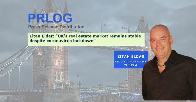 "Eitan Eldar: ""UK's residential real estate market is a safe investment"""